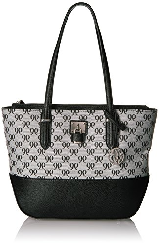 Nine West Reana Large Tote, White/Black