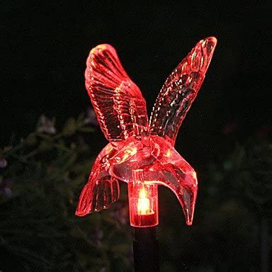 BinLZ Chandelier Moderne Kronleuchter Deckenleuchten Anh/änger Solar Farbwechsel Kolibri Garten Stake Licht 3C Ce FCC Rohs f/ür Wohnzimmer Schlafzimmer