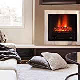 TURBRO Eternal Flame Fireplace Logs Heater with