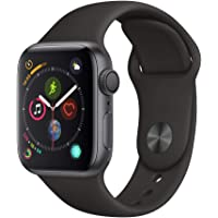 Apple Watch Series 4 (GPS, 40mm) - Space Gray Aluminium Case with Black Sport Band