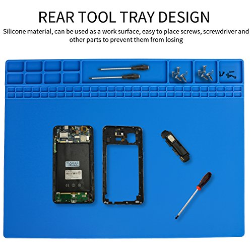 Soldering Mat Silicone Pad Hot Air Rework Station