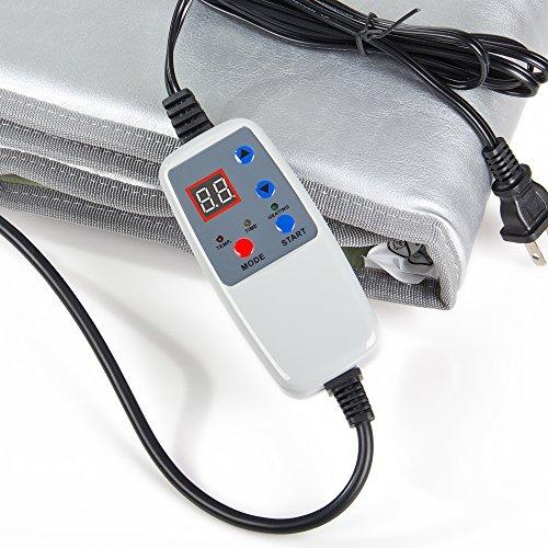 Sauna Belt FAR Infrared Reduce Slim Waist Lose Weight Manage Back Pain Remote Control Timer