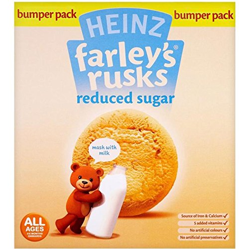 Farleys Rusks 4 Month Reduced Sugar Original 18 Pack 300g