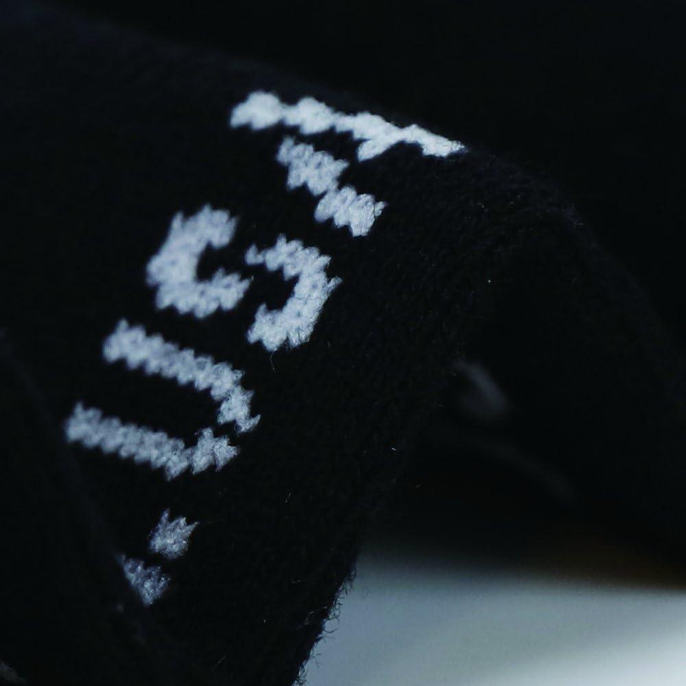 Enerwear 10P Pack Mens Cotton Moisture Wicking No Show Socks Non Slip Casual Socks