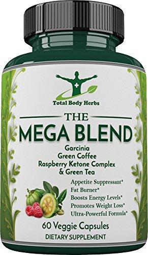 Mega Blend Thermogenic Supplement Capsules