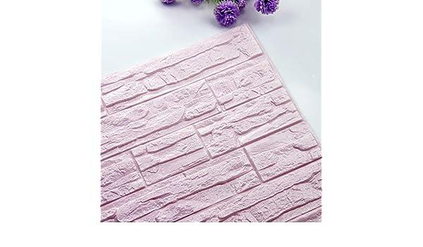 Modaworld DIY 3D Brick Paneles de Papel Tapiz de Espuma PE ...