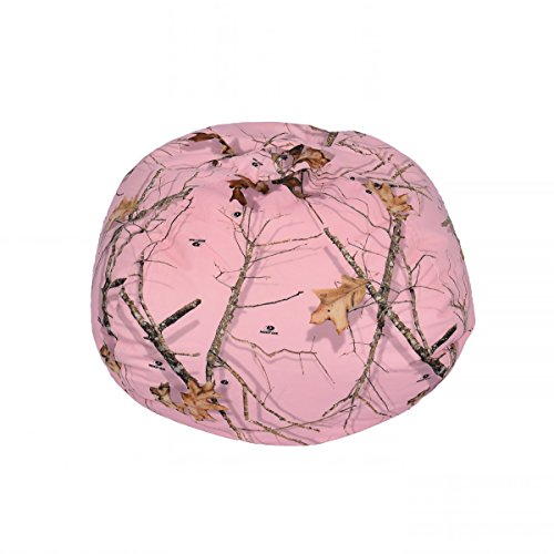 (Ace Casual Mossy Oak Bean Bag Chair, 096 Country Roots, Soft Pink, Mossy Oak Camo)