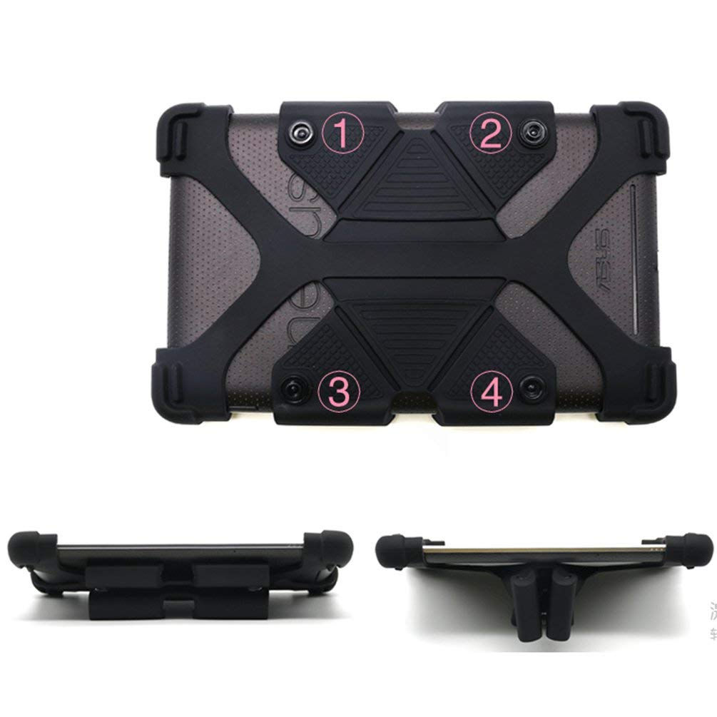 TAOHOU Protezione Antiscivolo in Silicone per Tablet iPad da 7-8 Pollici Universale Multiuso