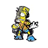 Zombie Bart Simpson Treehouse of Horror Art Adult