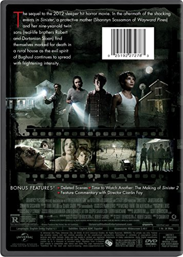 Image Gallery sinister 2 dvd