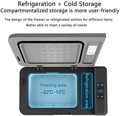 24L 車の冷却装置の圧縮機 DC 12V 24V 車のための車の冷却装置のフリーザーのクーラー 車の家のピクニックの冷凍冷凍のフリーザー-22~10 度、キャンプする旅行運転のための