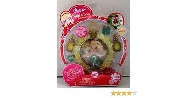 Barbie Peek a Boo Petites Snowflake Flurries Christmas Wish Christabelle #33