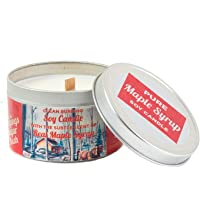 Maple Soy Candle - 6 oz Tin - 60 Hour Burn Time