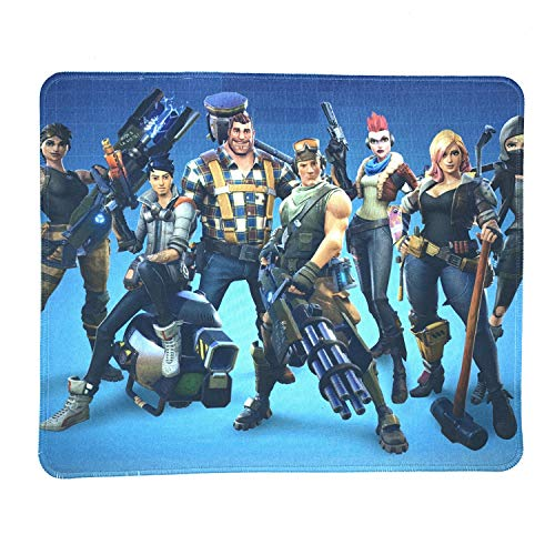 Video Games Mouse pad - Stitched Edges & Skid Proof Rubber Base Design Gaming Mousepads for Computers,Laptop,Office & Home(Battle Royal Game)