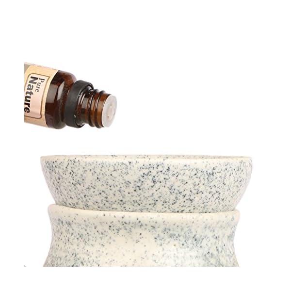 Pure Source India Aroma Diffuser Oil (Lavender, Lemongrass, Rose, Jasmine, Sandalwood and Mogra), 15ml Each, Multicolour - Set of 6 Perfumes