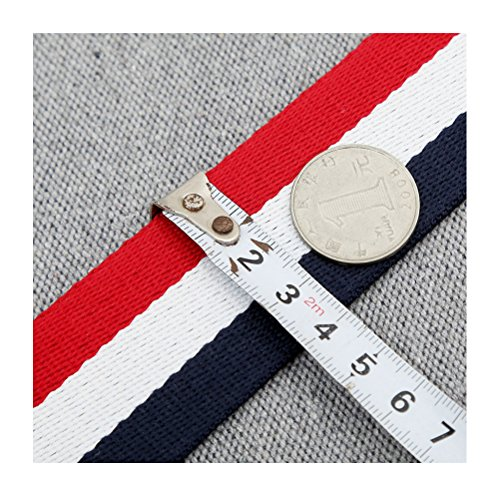 Multicolor Canvas Wide Strap Replacement Purse Strap Replacement Removable Crossbody Strap for Handbags by OPOO (Image #4)