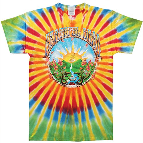 (Grateful Dead Men's Sunrise Tie Dye T-shirt Small Multi)