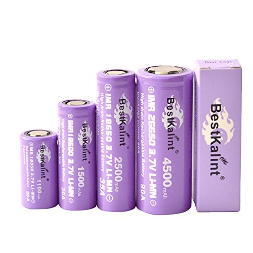 BestKalint-IMR-26650-90A-4500mAh-Li-mn-Rechargeable-Battery-with-Flat-Top-2-pcs
