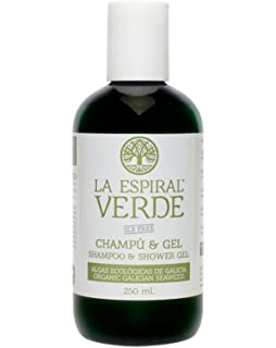 La Espiral Verde Champú y Gel Ducha de Algas sin Sulfatos - 250 ml