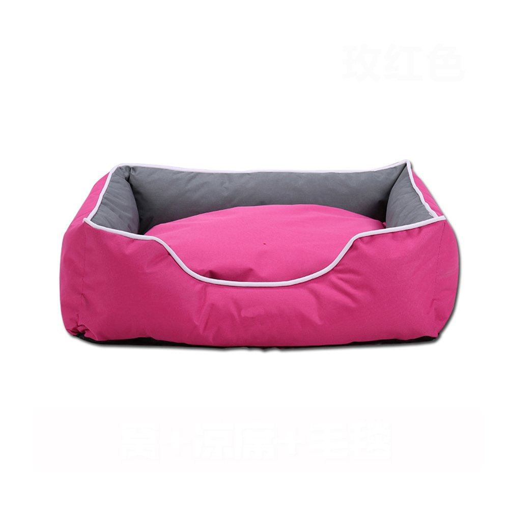 5 LargeWXWX Pet Supplies Large And Medium Sized Kennels Dog Bed Doghouse Four Seasons Universal Cat Nest Sleeping Bag Removable And Washable Multifunction (color   9, Size   L)