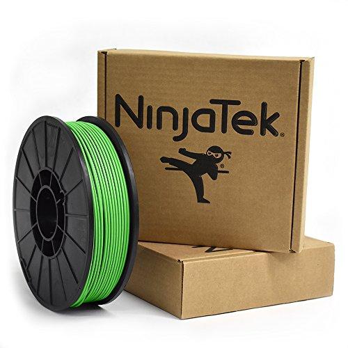 NinjaTek 3DCH06129010 NinjaTek Cheetah TPU Filament, 3.00mm, Tpe, 1kg, Grass (Green) (Pack of 1)