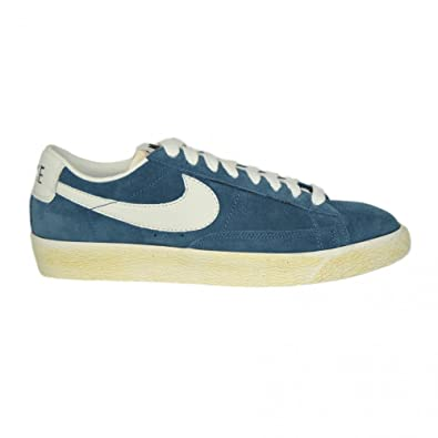 more photos 3a876 5e6ee NIKE Mens Blazer Low Premium Vintage Suede Trainers in ...