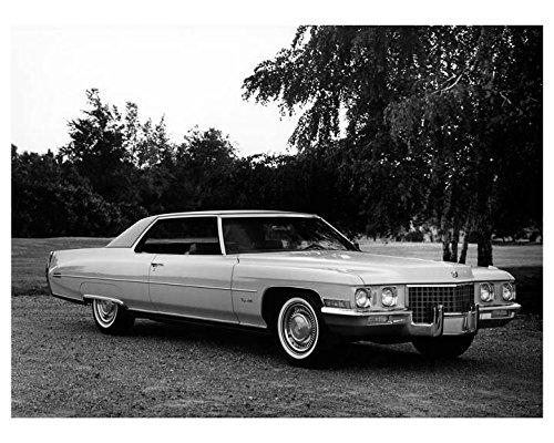 1971 Cadillac Coupe De Ville Factory Photo