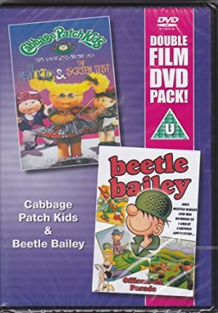 Double Film DVD Pack - Cabbage Patch Kids: Two Adventures - the New Kid & the Screen Test / Beetle Bailey: Officers on Parade: Amazon.es: Cine y Series TV