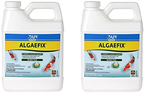 (2 Pack) API Pondcare Algaefix Alage Control, 32-Ounce