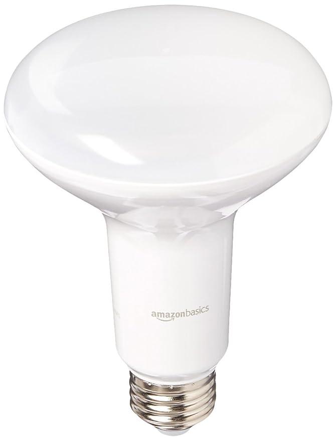 AmazonBasics - 65 W Equivalente, regulable, BR30 LED luz bombilla: Amazon.es: Bricolaje y herramientas
