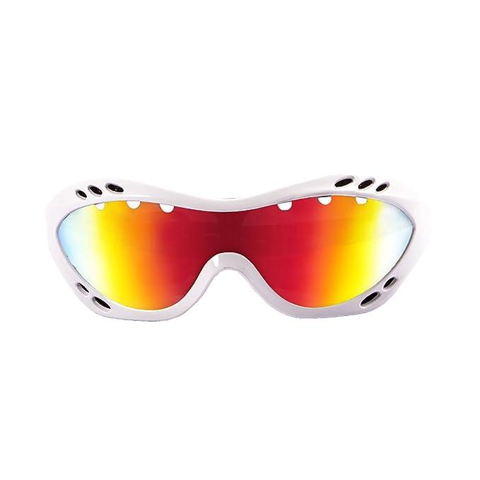 OCEAN SUNGLASSES Costa rica - lunettes de soleil polarisÃBlackrolles - Monture : Blanc LaquÃBlackroll - Verres : Revo Jaune (11801.3) dDDLd9