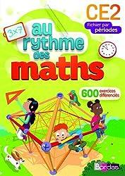 Au rythme des maths CE2  Fichier de l'élève par périodes (Éd. 2015)