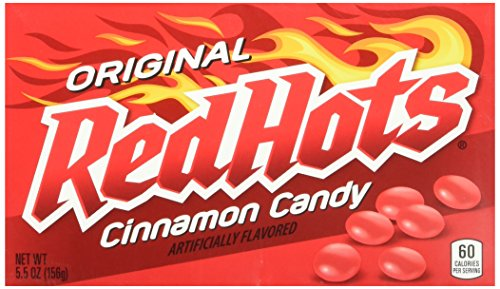 - Red Hots Original Candy, Cinnamon Flavor, 5.5 Ounce