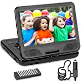 DR. J Professional 12.5' Portable DVD Player with 5 Hours Built-in Rechargeable...