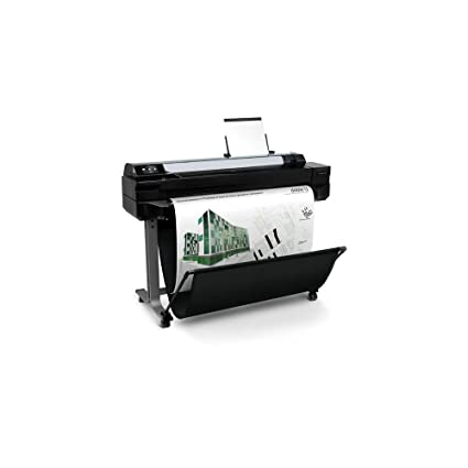 HP Designjet T520 - Impresora de gran formato (9.3 m/p, 16.3 ...