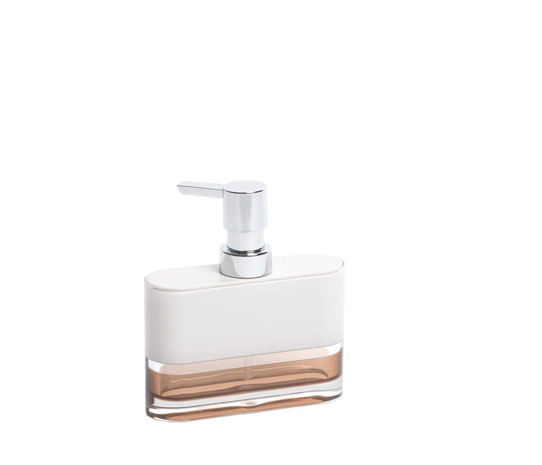 Amazon.com: IMMANUEL 6-Piece MS Acrylic Two-tone Brown White ...