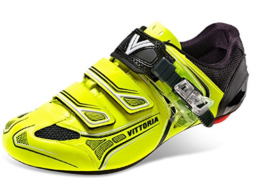 Vittoria Brave Cycling Shoes, Fluorescent, 41.5 EU/8.25 D US by Vittoria