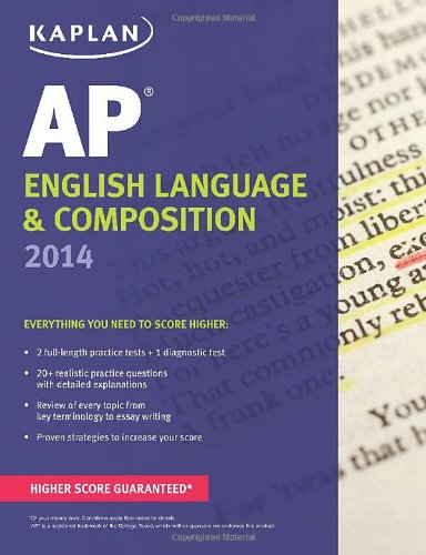 Kaplan AP English Language & Composition 2014 (Kaplan Test Prep) -  Denise Pivarnik-Nova, Teacher's Edition, Paperback