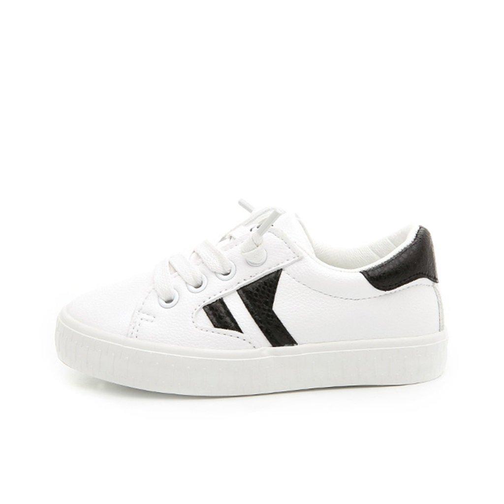 ALUK- Chaussures pour enfants - Chaussures de bébé de printemps et d'automne Chaussures sportives occasionnelles et respirantes ( Couleur : Blanc , taille : 36-foot length 22cm )