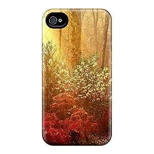 ZfNSErA1466BfpJc AlexLeroyDavis Blaze Of Autumn Durable Iphone 4/4s Tpu Flexible Soft Case