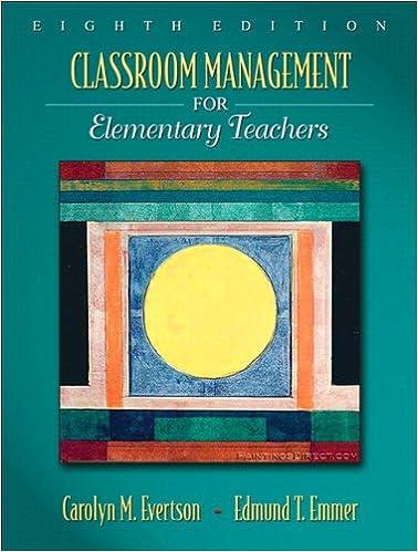 Amazoncom Classroom Management For Elementary Teachers