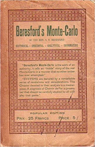 Ilmainen mobiili e-kirjan lataaminen Beresfordd's Monte-Carlo: Historical, anecdotal, analytical, informative PDF by S. R Beresford