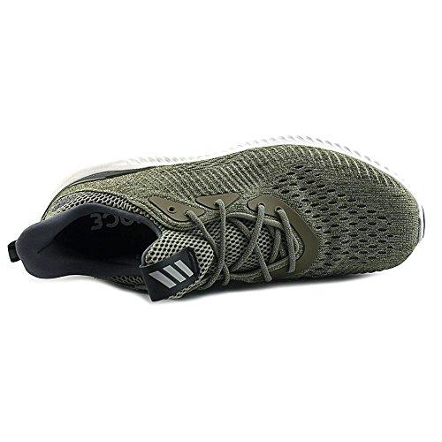 Adidas Mens Alphabounce Em M Scarpa Da Corsa Traccia Oliva / Traccia Carico / Grigio Uno