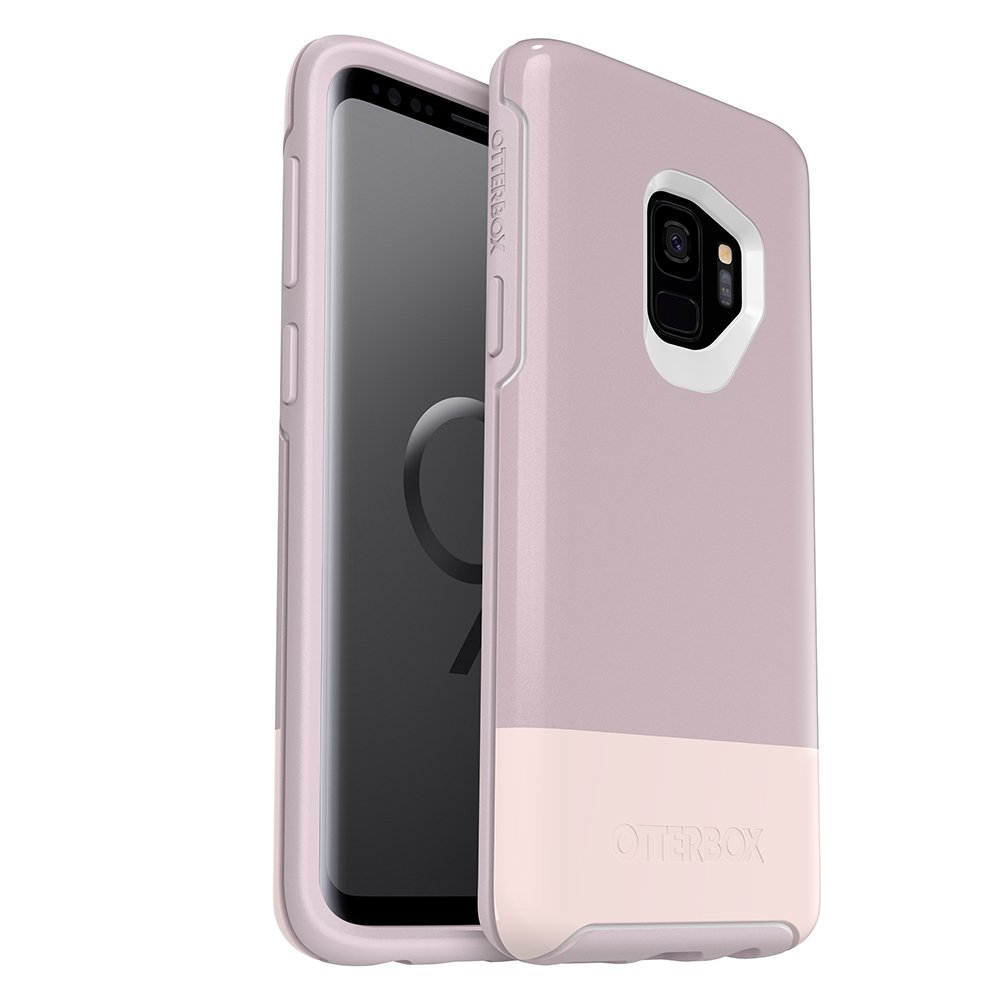 OtterBox SYMMETRY SERIES Case for Samsung Galaxy S9 - Retail Packaging - SKINNY DIP (WHTE/PALE MAUVE/SKINNY DIP) by OtterBox