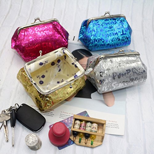 Bag Lady Deals Coin Laser Clearance Gold Purse Wallet Bag Coin Reflector TOOPOOT Women tfOXqp