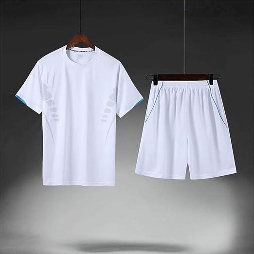 CNBPLS Summer - Pantalones Cortos para Hombre - Camiseta de Dos ...