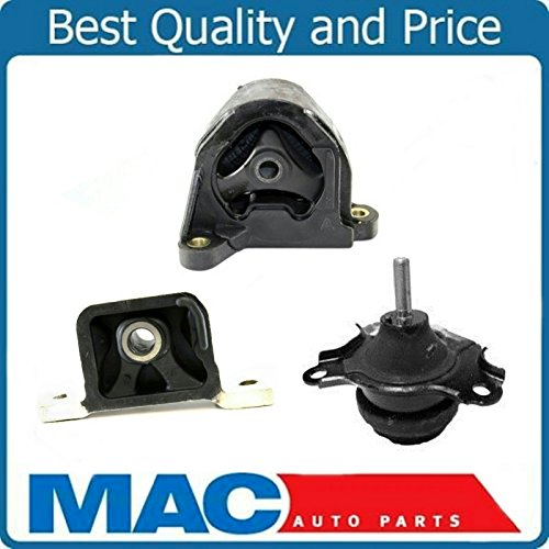 New 3 PC Motor Mount Kit for ELEMENT 2.4L 03-11 With Automatic Transmission