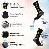 KitNSox Running Cushioned Socks, Boys Girls Sport