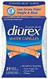 Diurex Extended Relief Water Capsules, 21 Count Pack of 12
