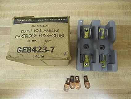 general electric ge8423 7 cartridge fuse holder amazon com rh amazon com
